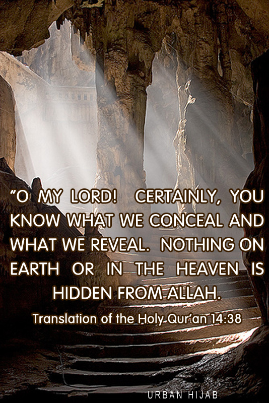 Translation of the Holy Qur'an 14:38
