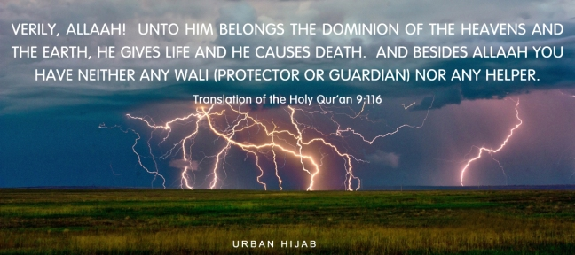Translation of the Holy Quran 9:116