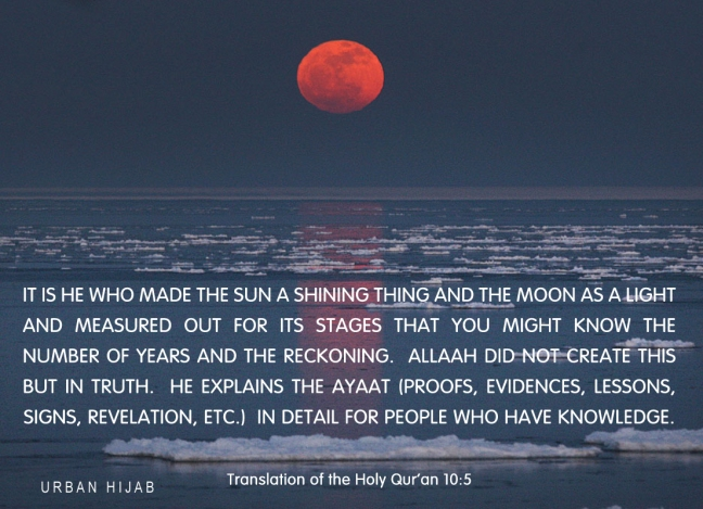 Translation of the Holy Quran 10:5
