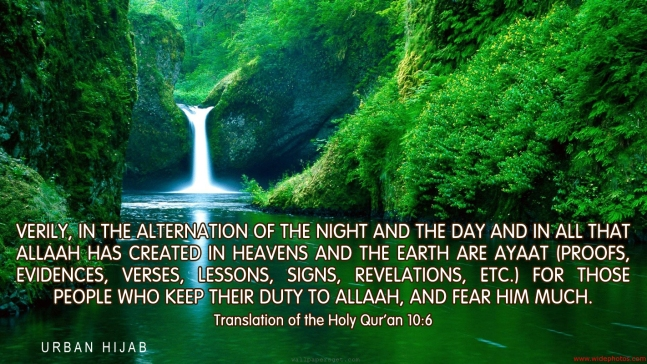 Translation of the Holy Quran 10:6