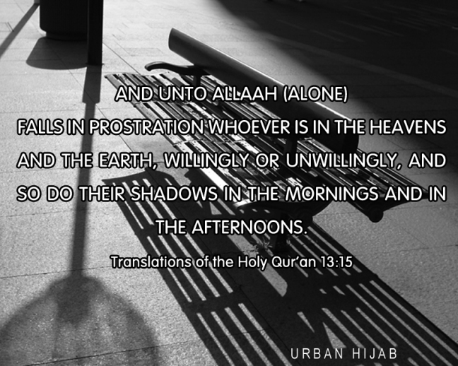 Translation of the Holy Quran 13:15